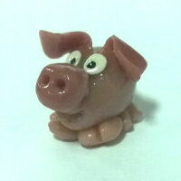 World of Warcraft pet pig  Поросёнок Figure