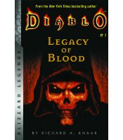 Книга Diablo: Legacy of Blood (Blizzard Legends) Мягкий переплёт (Eng)
