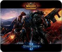Коврик - StarCraft VS Warcraft