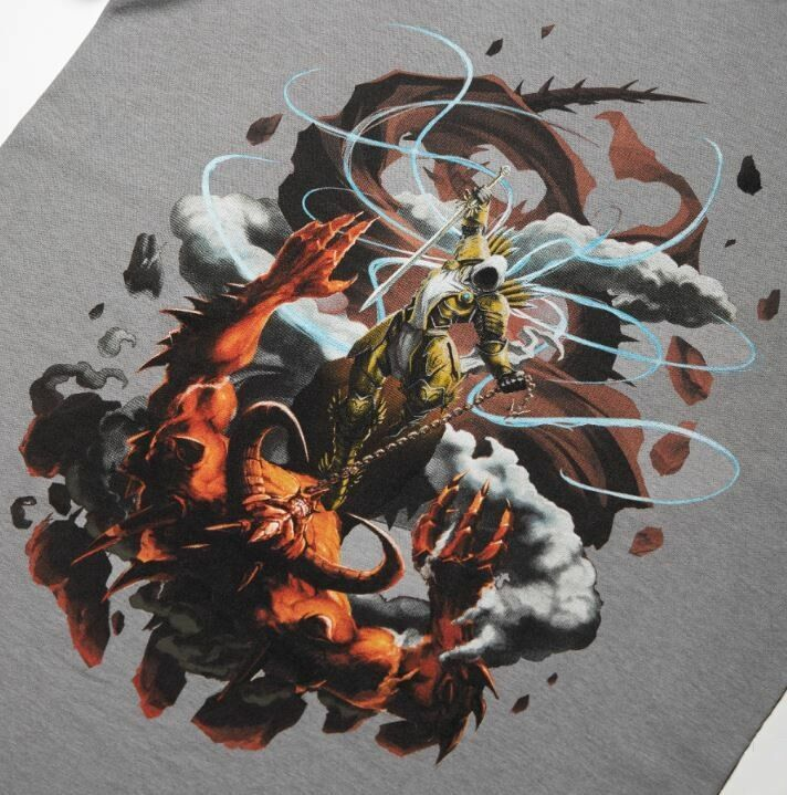 Футболка Diablo Angiris Dominicus Hot Topic Fan Art Shirt (размер L)