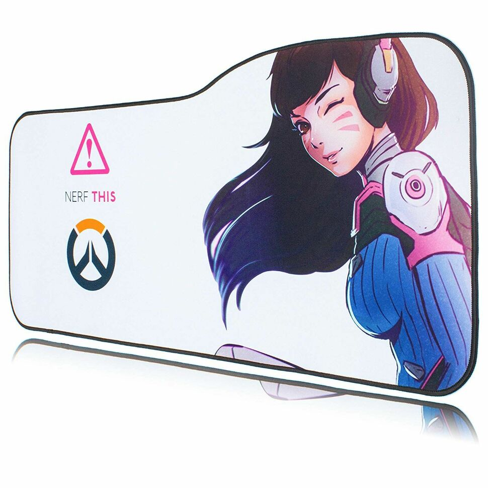 Коврик Overwatch Large Gaming Mouse Pad - D.va (70*32 см) Curve