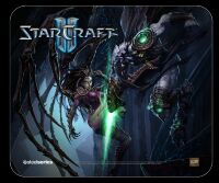 Коврик SteelSeries QcK mini StarCraft 2 Kerrigan (21 x 25 см.)