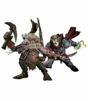 Series 8: Gnome Rogue: Brink Spannercrank VS. Kobold Miner: Snaggle 2-Pack Action Figure