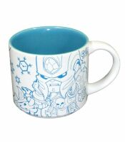 Чашка Warcraft - Cute But Deadly Villain Mug (Lich King and Illidan)