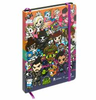 Блокнот Овервотч tokidoki x Overwatch Heroes Group Notebook